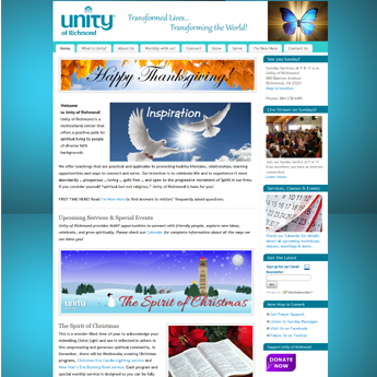Unity of Richmond home page