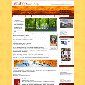 Unity of Sussex County home page